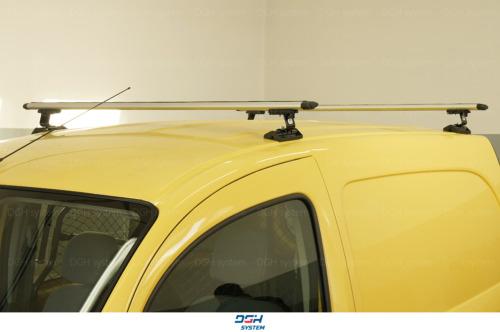 Dachträger Für Mercedes Vito W639 04-14 mit Fixpunkten Aluminium Silbern 160cm