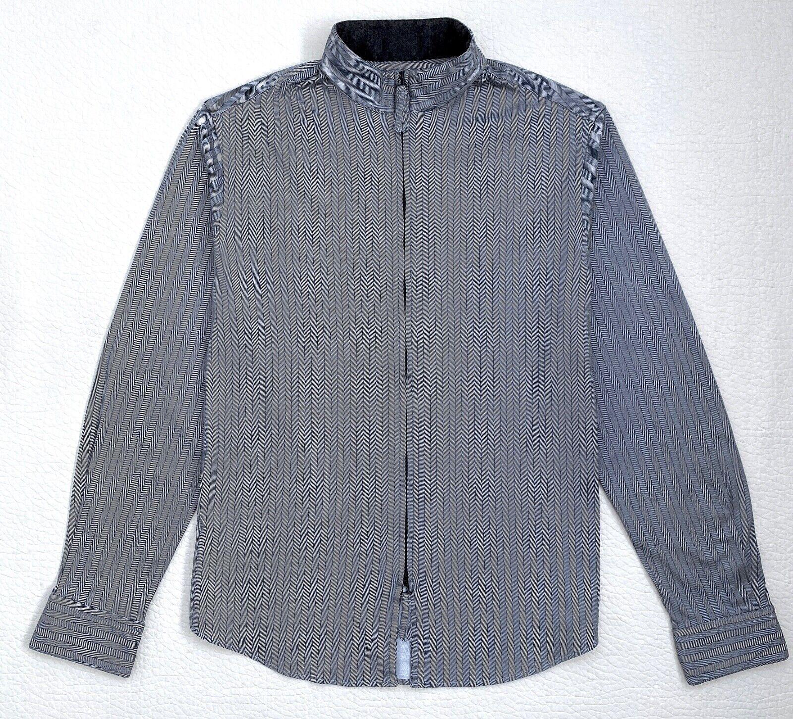 Giorgio Armani Collarless Slim Fit Shirt Sz.42-16.5