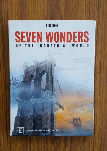 Seven Wonders Of The Industrial World (DVD, 2008, 2-Disc Set) Region 4 BBC Doc