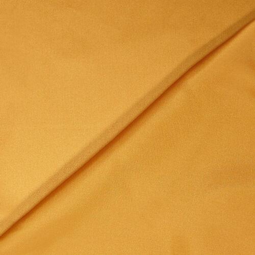 140cm Wide JOHN LEWIS Sapphire Satin Dress Fabric GOLD Free P/&P