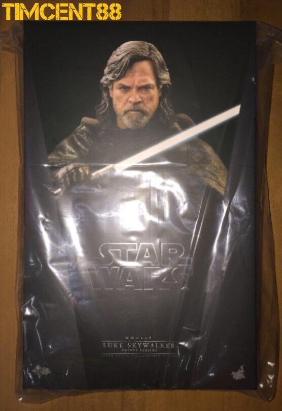 Prêts  Hot Toys MMS458 Star Wars le dernier Jedi Luke Skywalker de Mark Hamill Deluxe