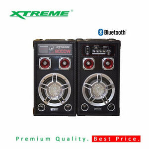 Xtreme-8-034-XT08A-Bookshelf-Speaker-Black