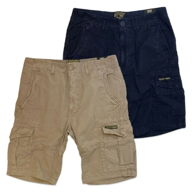 Sand Mitternacht Marineblau Core Fallschirm Cargo Superdry Shorts