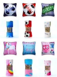 New-Kids-Throws-Super-Soft-Fleece-Bed-Blanket-Cushion-Cover-Football-Unicorn