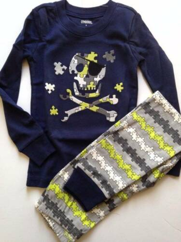 NWT Gymboree Boys Long PJ/'s Set Gymmies Pirate Skull Size 2T  3 /& 4