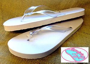 3e6fb7b07a8ec 20 prs x Dancing Ladies Flip Flops Wedding Soft Off-White (52S) (UK ...