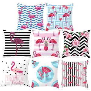 Am-Pink-Flamingo-Linen-Pillow-Case-Cushion-Cover-Modern-Office-Home-Decor-Healt