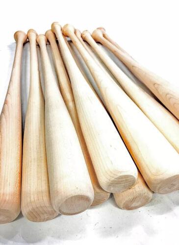 12 Game Ready Wooden Blem Baseball Bats Free Shipping!