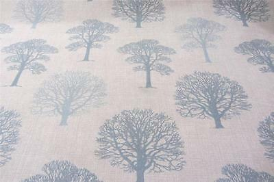 Enlish Old Trees Wedgewood Cotton Curtain/Craft Fabric
