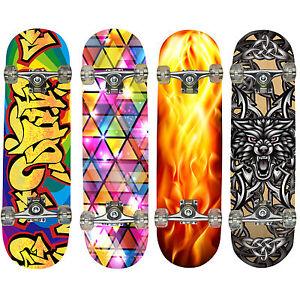 Hansson-Sports-Top-Skateboard-Komplett-Ahornholz-4-NEUE-Modelle-zur-Wahl