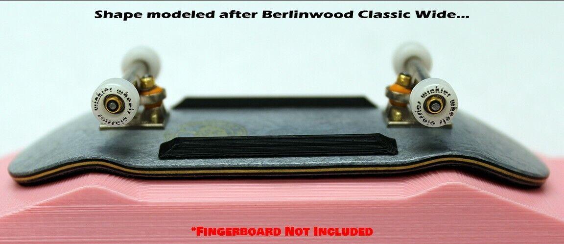 LC BOARDS Fingerboard 98x34 Complete Supreme LV Black Trucks Black Wheels Grip
