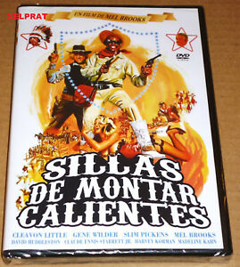 SILLAS-DE-MONTAR-CALIENTES-BLAZING-SADDLES-English-Espanol-Precintada