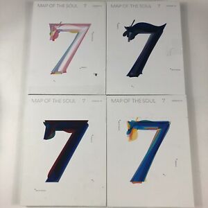 BTS – Map Of The Soul:7 [2020, CD, Version 1,2,3,4] Choose Your Lot Ships Free!