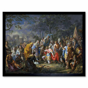 Platzer-Alexander-Great-Keys-Babylon-Painting-Art-Print-Framed-12x16