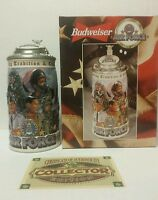 Budweiser Lidded Beer Stein 1999 Military Series AIR FORCE CS378