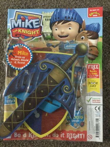 CBeebies magazine  mike the knight # 47 dress up set