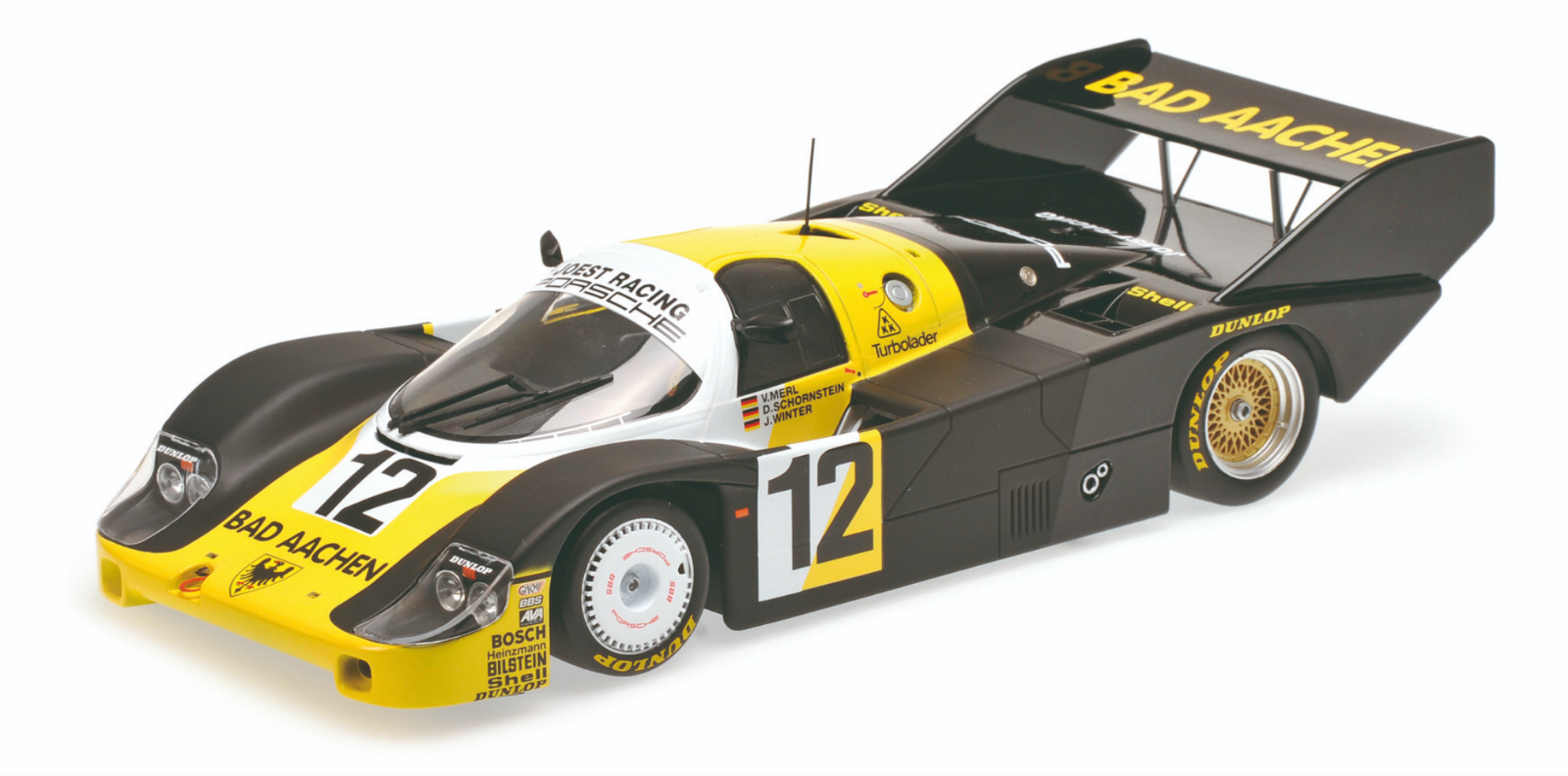 1 18 Porsche 956K n°12 Monza 1984 1 18 • Minichamps 155846612