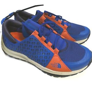 100-North-Face-Men-039-s-Mountain-Sneaker-Size-9-Orange-Blue-NEW-Style-NF0A32ZU
