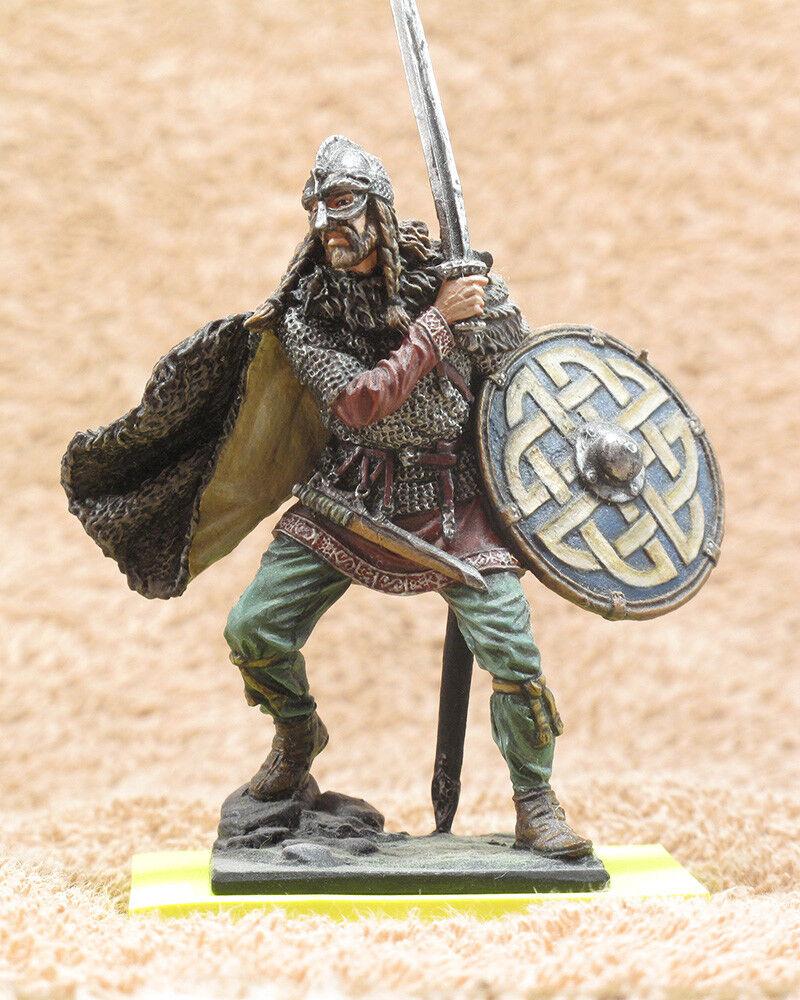 Tin 54mm Toy Soldier Viking (Earl), 9 -10 centuries
