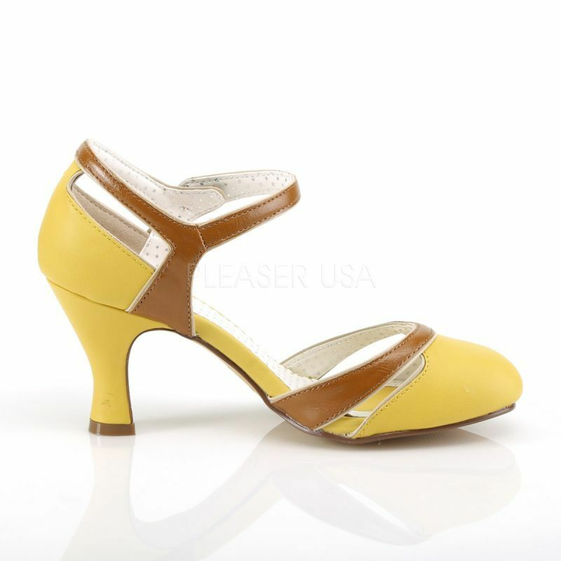 Pin Up Couture Pumps FLAPPER-27 Gelb FLAPPER-27 Pin Up Couture Pumps FLAPPER-27 Gelb Gelb 3f4a4f