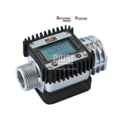 Zählwerk Piusi Digitaler Turbinenzähler K24 Alu mit LCD Anzeige