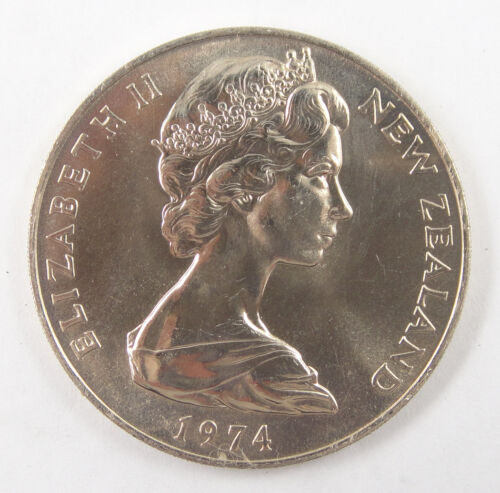 New Zealand Dollar Coin Commonwealth Games 1974