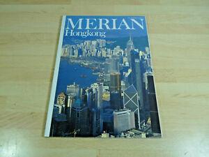 Zeitschrift-Reisemagazin-MERIAN-Hongkong-Heft