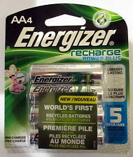 ToKaLand Energizer AA Rechargeable Power Plus Batteries 4-Pack 2300 mAh