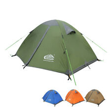 Professional Waterproof Dome Backpacking Tent For 2-3 person Camping 4 season