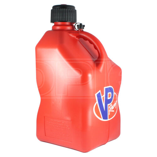 VP Racing Square 20L Fuel Churn Red Container Jerry Can