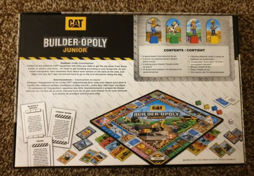 Game Board Details about  /New Caterpillar Builder Opoly Junior by MasterPieces