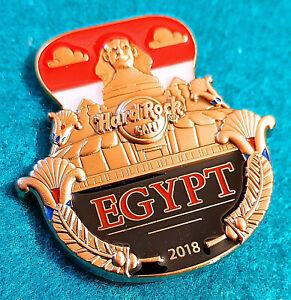 Egipto-3D-Cut-Apagado-Serie-Gran-Sphinx-Of-Giza-Egipcio-Bandera-Hard-Rock-Cafe