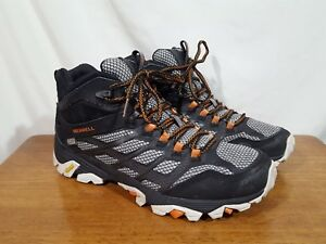 mens merrell moab fst waterproof hiking boots ebay