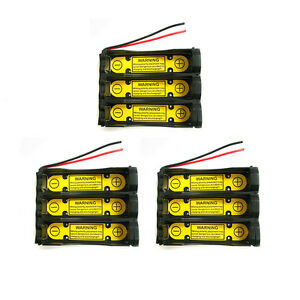 1pcs 3S1P 11.1V 18650 Holder with Battery Build-in PCM Protection Circuit Module