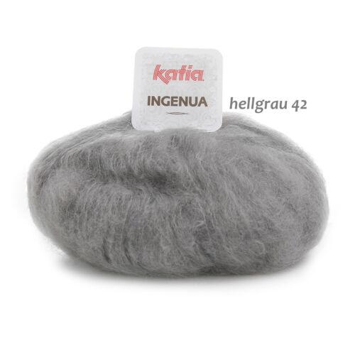 Ingenua mohair lana katia suave jersey o Jaken tejer lana rápidamente