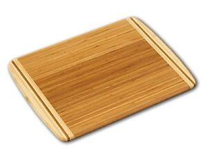 schneidebrett aus bambus 30x20cm schneidbrett k chenbrett holz 10 ebay. Black Bedroom Furniture Sets. Home Design Ideas
