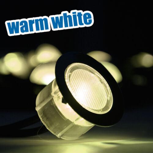 LED DECKING LIGHTS DECK GARDEN KITCHEN PLINTH BATHROOM LIGHTING BLUE WHITE WARM