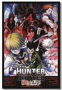 Poster Hunter x Hunter Boy Room Japan Anime Cloth Print 504