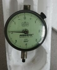 Federal Dial Indicator 0001 C1k Good Condition
