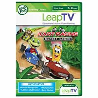 Leapfrog Leaptv Kart Racing: Supercharged Educational, Active Video Game , New,