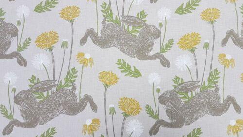Clarke Et Clarke Lièvre de Mars Linen Curtain Upholstery Craft Designer Tissu