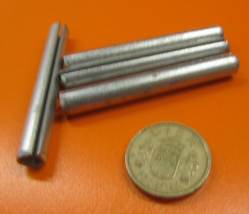 "25 pcs Zinc Plate Steel Slotted Roll Spring Pin 5//16/"" Dia x 2 1//2/"" Length"