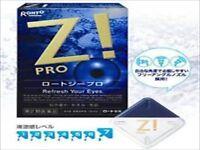 Rohto Z! PRO EYE DROPS refresh your eyes JAPANESE EYEDROPS X 1 Pack 12ml F/S