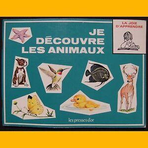 Collection-La-Joie-d-039-Apprendre-JE-DECOUVRE-LES-ANIMAUX-B-Morris-Parker-1972