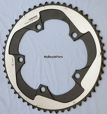 SRAM Red Yaw 53T 10-Speed Hidden Bolt Chainring Use with 39T