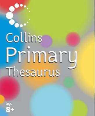 """AS NEW"" McIlwain, John, Collins Primary Dictionaries – Collins Primary Thesauru"