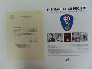 Manhattan-Project-Charles-W-Sawyer-Hand-Signed-TLS-JG-Autographs-COA