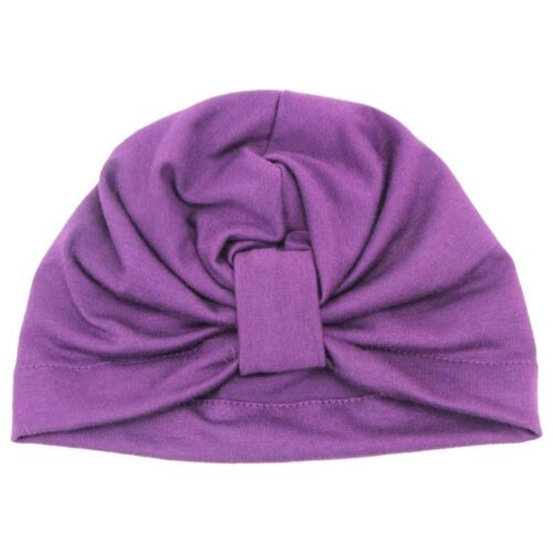 Baby Girl Hats Headband Sretch Head Wrap Soft Turban Knot Caps for Toddler Kids