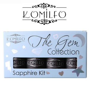 KIT-Komilfo-The-Gem-Collection-8ml-Colour-Gel-Nail-Polish-8ml-Lime-Pink-Purple