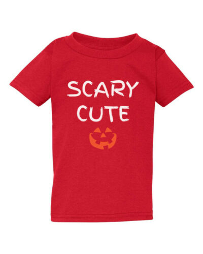 Family Matching T Shirts Scary Hot Cute Lucky Halloween Pumpkin Face Spooky Tees